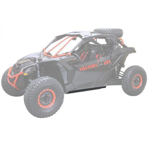 Can-Am Maverick X3 UHMW rock sliders