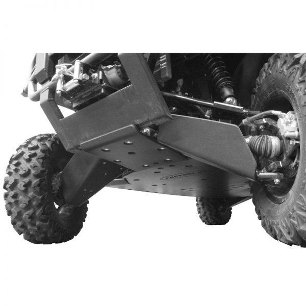 Kawasaki Mule Pro UHMW Skid Plate ultimate package front view