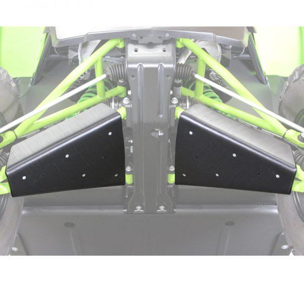 Textron XX UHMW A-Arm Guards angle shaded